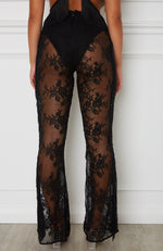Wild Thoughts Pants Black