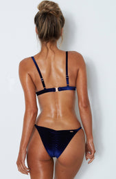Thira Bottoms Navy Velvet