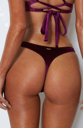 Kali Bottoms Wine Velvet