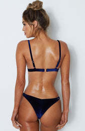 Ibiza Bottoms Navy Velvet