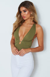 Pixie Multi Way Bodysuit Olive