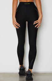 Electric Logo Leggings Black
