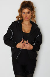 Get It Done Windbreaker Jacket Black