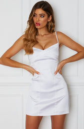 Want It All Mini Dress White