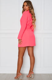 Join The Club Blazer Dress Watermelon