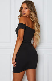 Zamora Mini Dress Black