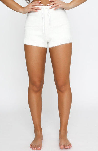 Staying In Shorts Cream