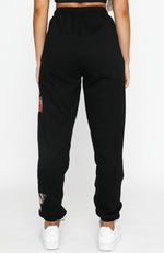 Social Butterfly Sweatpants Black