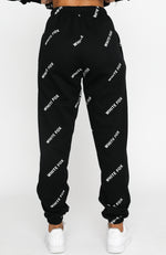 Take A Stand Sweatpants Black
