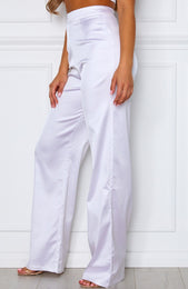 Less Talk Pants White