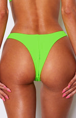 Belmont Bottoms Neon Green