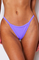 Sofia Bottoms Violet Rib