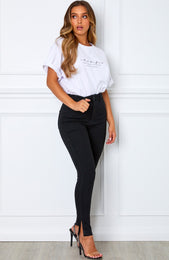 Break The Ice Skinny Jeans Black