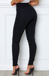 Cry Me A River Skinny Jeans Black