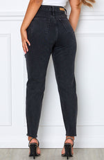 Love Stoned Boyfriend Jeans Vintage Black