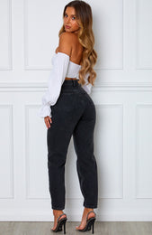 Rock Your Body Boyfriend Jeans Vintage Black