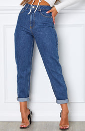 Rock Your Body Boyfriend Jeans Dark Blue