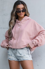 Staple Oversized Hoodie Dusty Rose