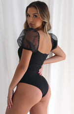 Risky Business Bodysuit Black
