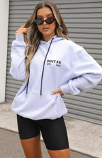 Double Or Nothing Hoodie Iced Lilac