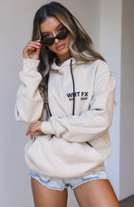 Double Or Nothing Hoodie Sand