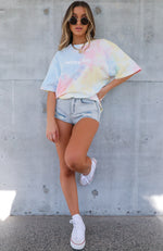 High Demand Tee Rainbow Tie Dye