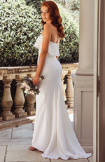 Aubrey Maxi Dress White