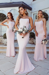 Sophia Maxi Dress Blush
