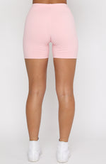 Essentials Club Bike Shorts Pink