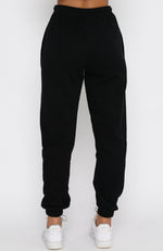 Fast Forward Sweatpants Black