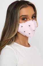 Face Mask Butterfly Print
