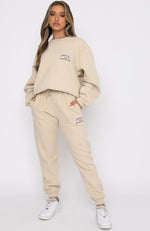 Essentials Club Sweatpants Sand
