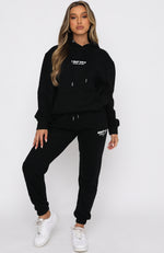 Power Shift Hoodie Black
