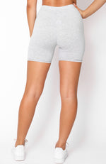 Autograph Bike Shorts Light Grey Marle