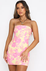Sunset Skies Mini Dress Summer Blossom