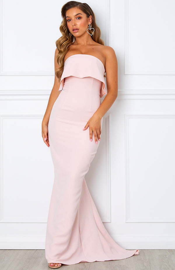 Aubrey Maxi Dress Blush