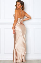 Penelope Maxi Dress Champagne