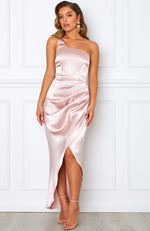 Willow Wrap Dress Blush