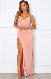 The Ritz Maxi Dress Soft Pink