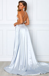 Made To Last Maxi Dress Silver