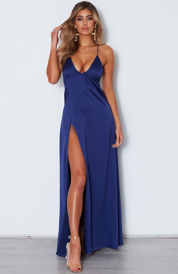 Run Free Maxi Dress Navy