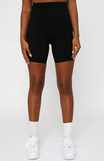 Dominate Bike Shorts Black