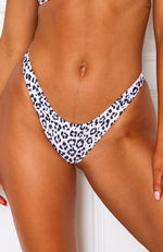 Ibiza Bottoms White Leopard