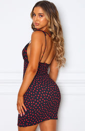 Mila Mini Dress Black Print