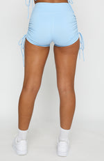 Running Wild Booty Shorts Blue