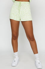 Role The Credits Knit Shorts Mint Marle
