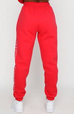 On Track Sweatpants Red