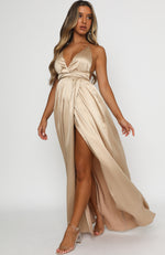 Endless Love Maxi Dress Champagne
