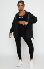Tie Break Windbreaker Black