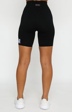 One More Time Bike Shorts Black